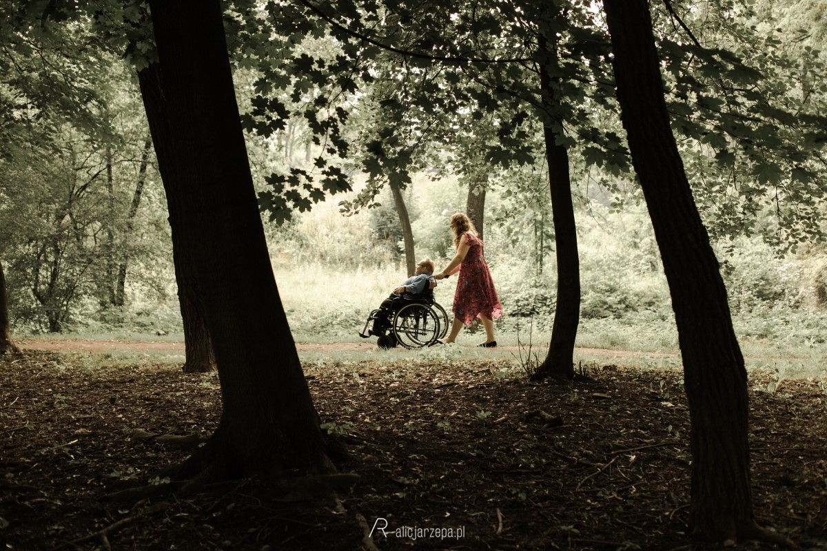 Agata i Robert / sesja narzeczeńska / Alicja Rzepa